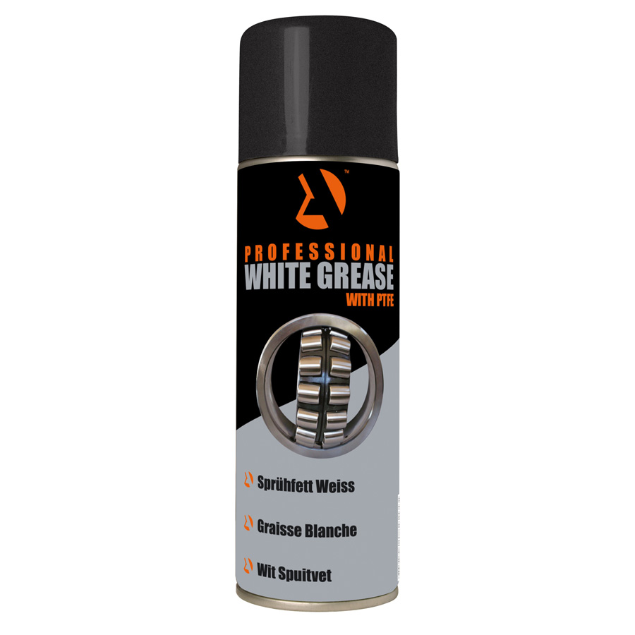 500 ML White Grease with PTFE Aerosol