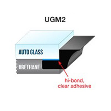 PUGM2 - 5mm Self-Adhesive Professional Underglass Moulding x 75' (22.8m)