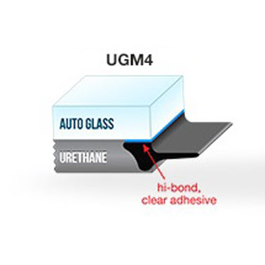 "UGM4 - Self-Adhesive Underglass Moulding Medium Sponge 9/32"" x 100' (7mm x 30.4M)"