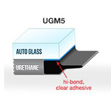 PUGM5 - 6mm  Self-Adhesive Professional Underglass Moulding x 75' (22.8m)