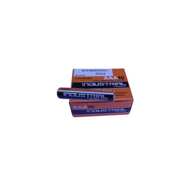 Duracell Industrial Alkaline 1.5v AAA Battery (single)