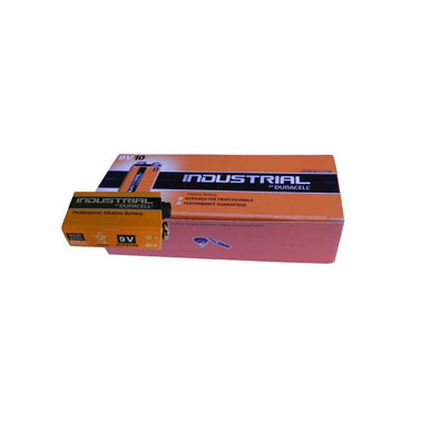 Duracell Industrial 9v Alkaline Battery (single)
