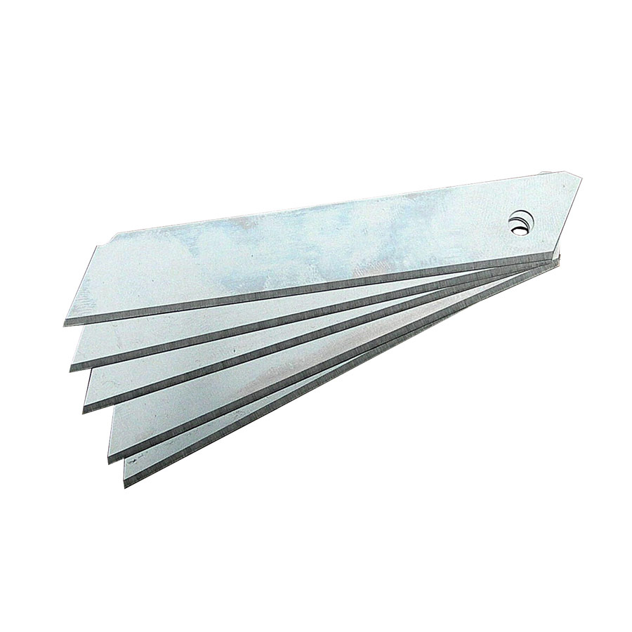 18mm Non-Segmented Blades (0.5mm) x 10