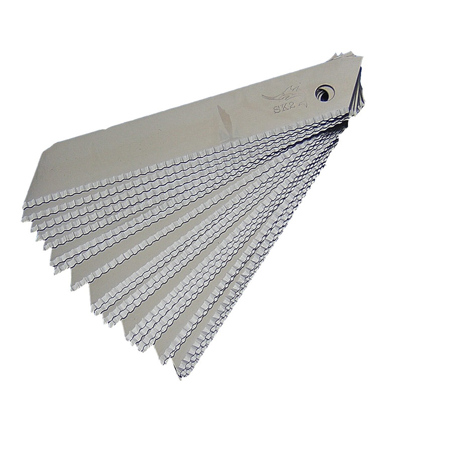 18mm SHARK Teeth Serrated Blades (0.6mm) x 10