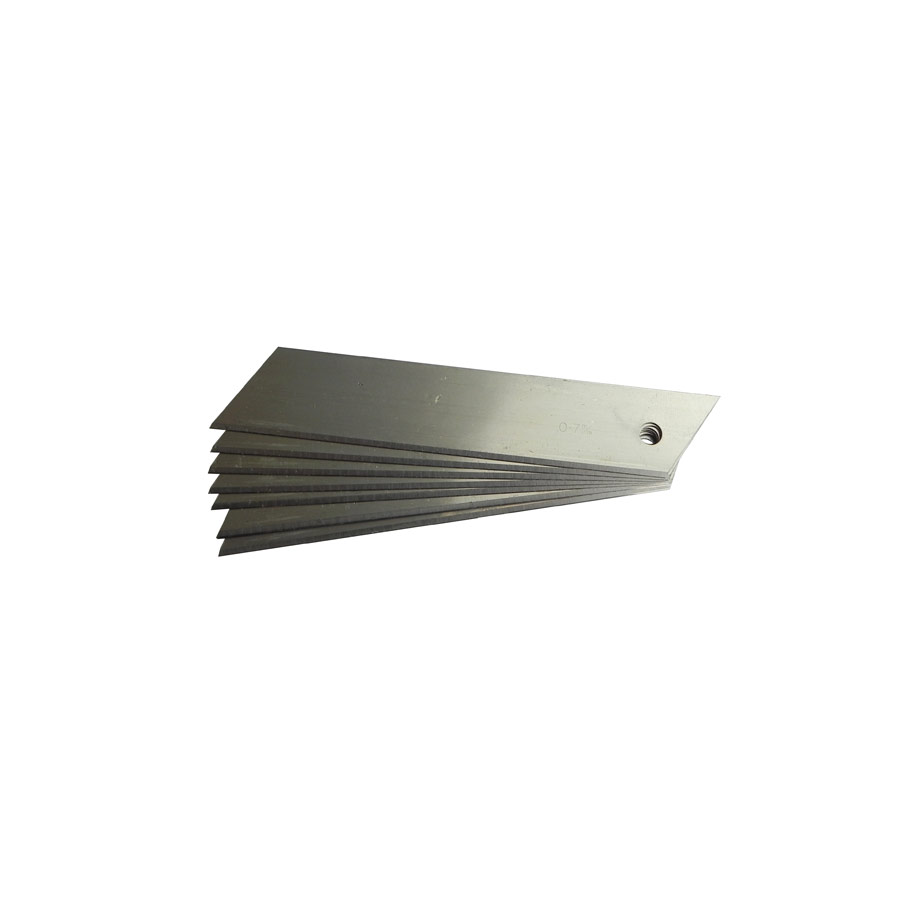 18mm SHORT Non-Seg. Blades (0.5mm) x 100