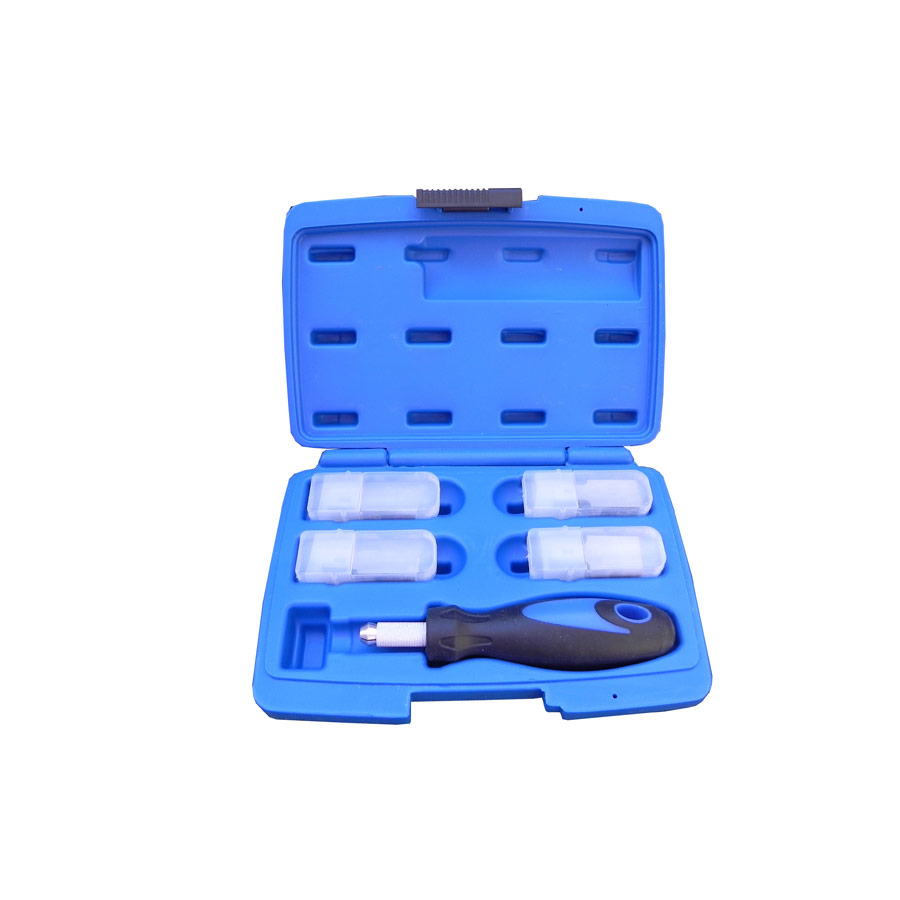Blue/Black Handle Chisel Set