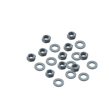 M5 Nuts & Washers x 10