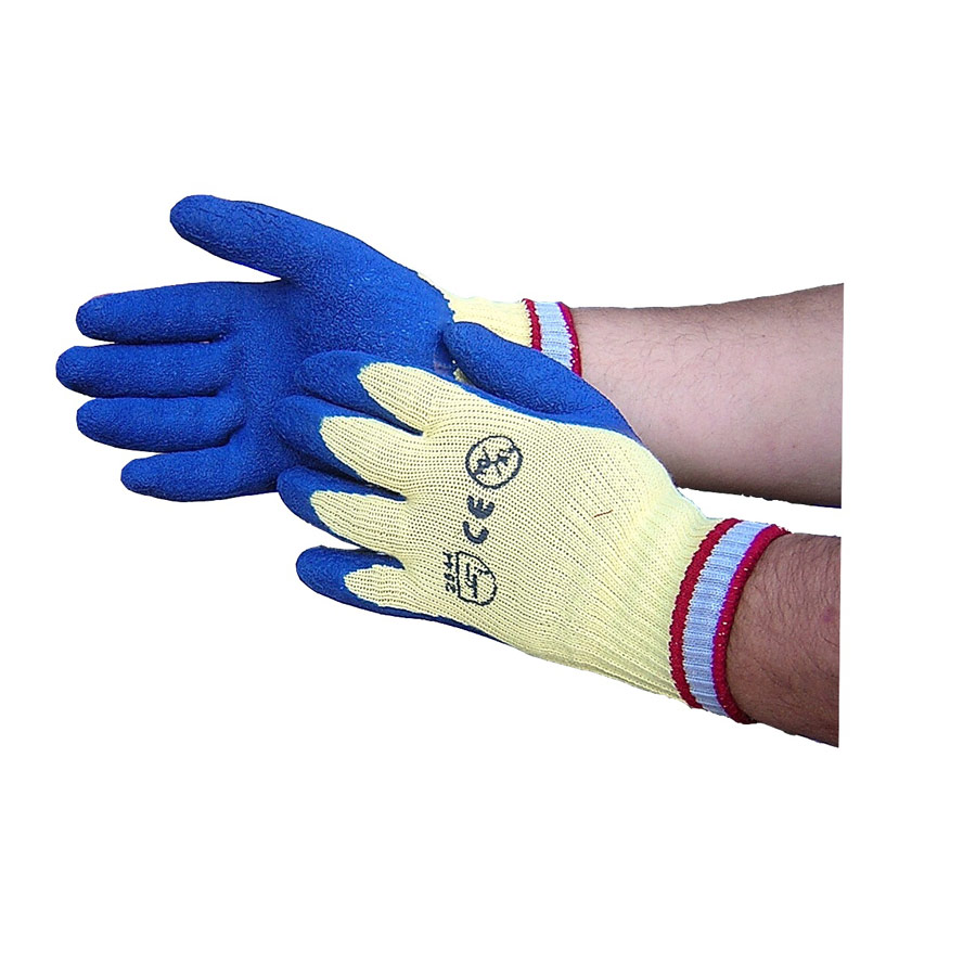 SUMO Kevlar Gloves Cut Level 5 (blue coated palms)