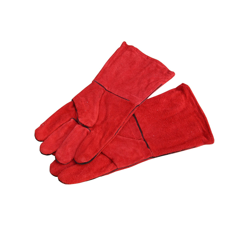 Welders Gauntlets Red