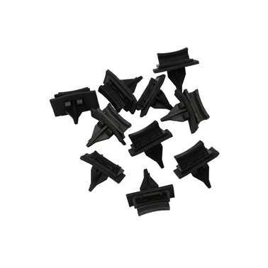 Ford Transit V (00-14) Side Moulding Windscreen Clips x 10 Black