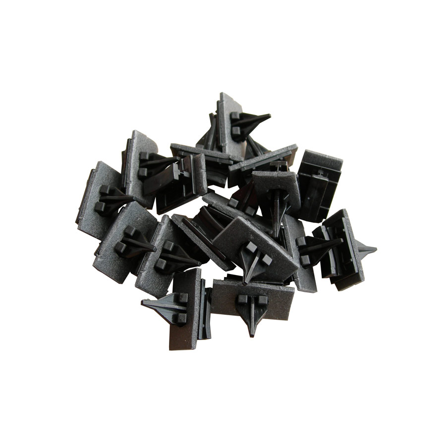 Ford Transit V (00-14) Side Moulding Windscreen Clips x 50 Black