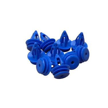 Land Rover Plastic Clips x10 - Blue