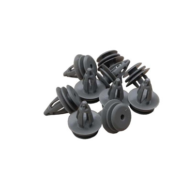 Land Rover Trim Clips for Door Cards/Panels x 10- Grey