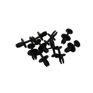 Citroen 8mm Plastic push fit rivets x 10