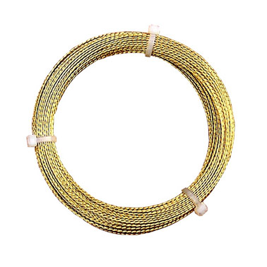Gold Braided Cheesewire - 22.5M