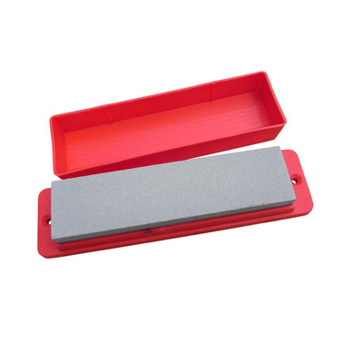 Sharpening Stone Flat 200 x 50 x 25mm in holder