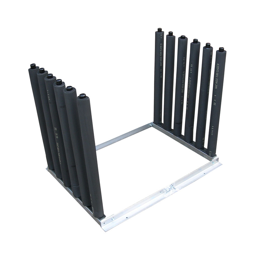 6 Pole Windscreen Van Rack
