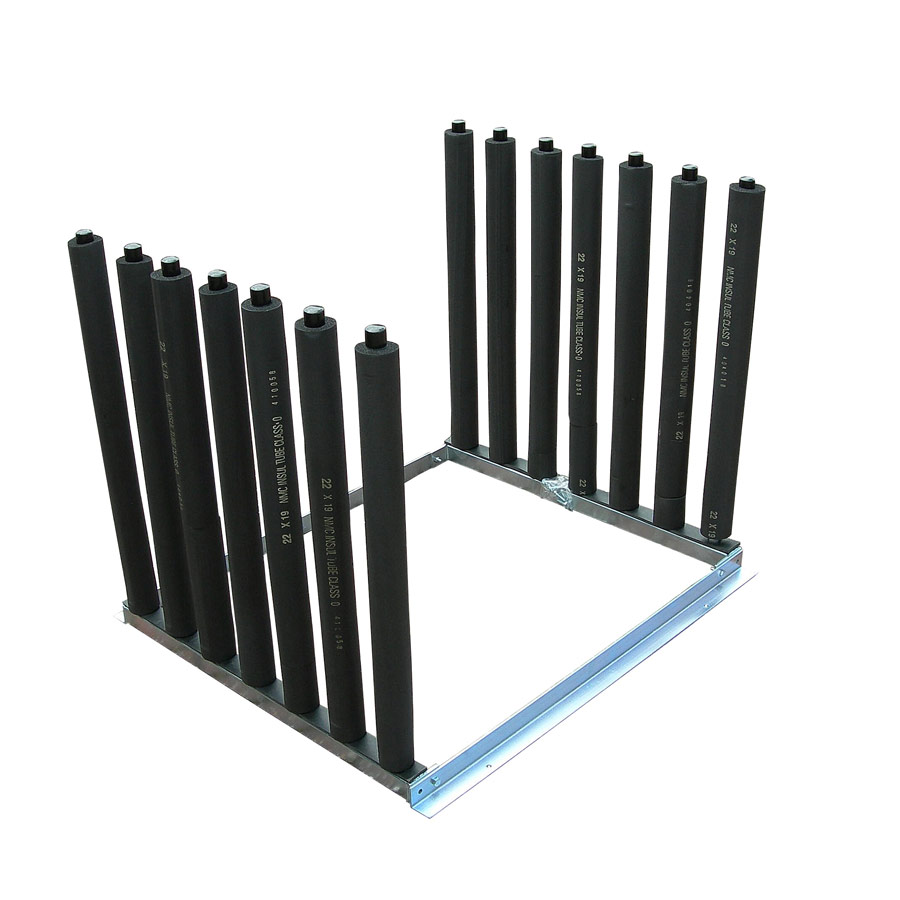 7 Pole Windscreen Van Rack