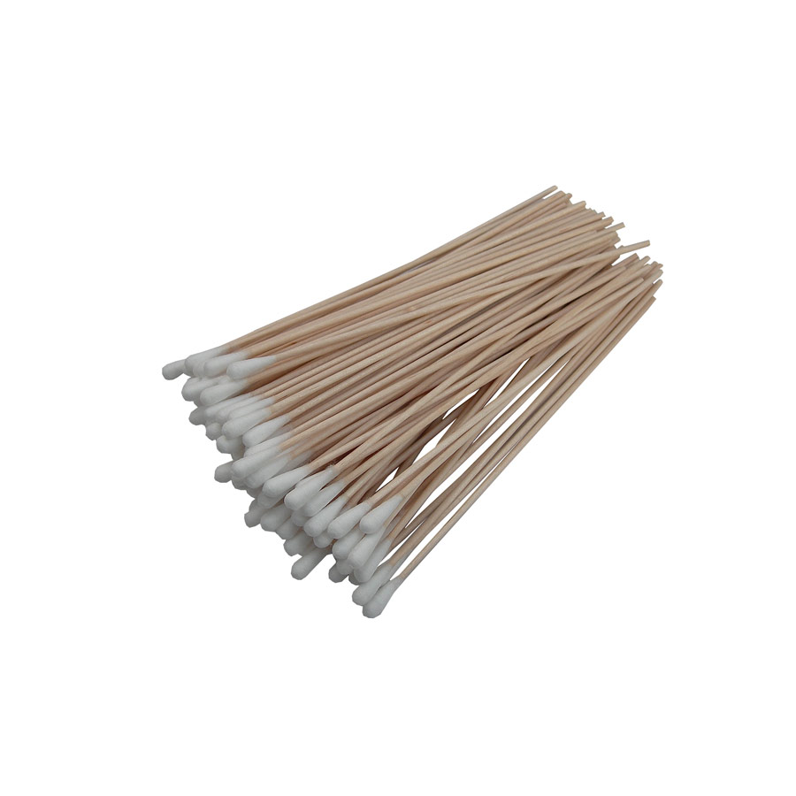 Wooden Stick Cotton Buds x 100