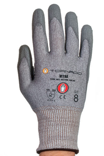 TORNADO Vitra Kevlar Gloves Cut Level 5 - Medium Size: 8