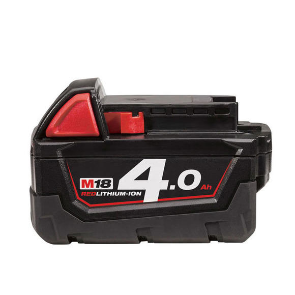 Milwaukee M18B4 M18 4.0Ah Red Lithium-Ion Battery (600ml & 400ml)