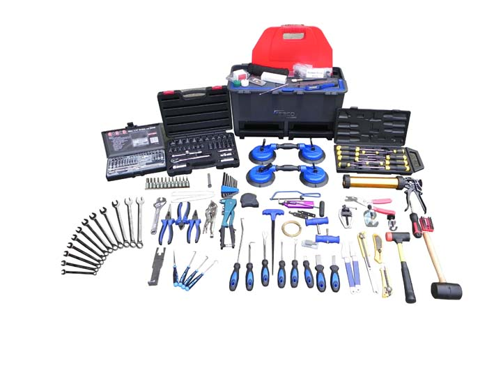 Windscreen Technicians Tool Kit