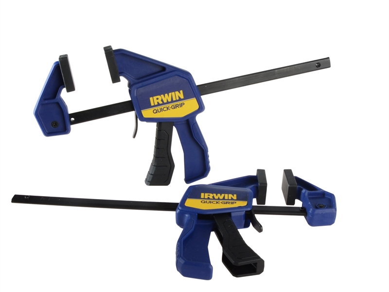 IRWIN® Quick-Grip® Mini Bar Clamp 150mm (6in), Twin Pack