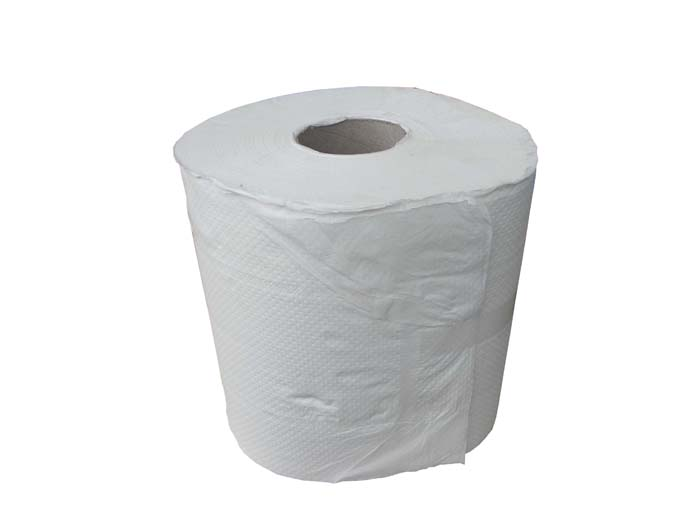 3 Ply Lint Free Paper Towel Centrefeed (180mm x 90M) White (re-usable)