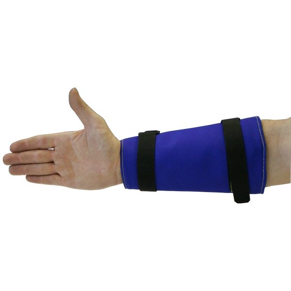 TORNADO Wristex Cuffs (2) - 20cm With Overlap Velcro Fastening Straps & Adjustable Buckle