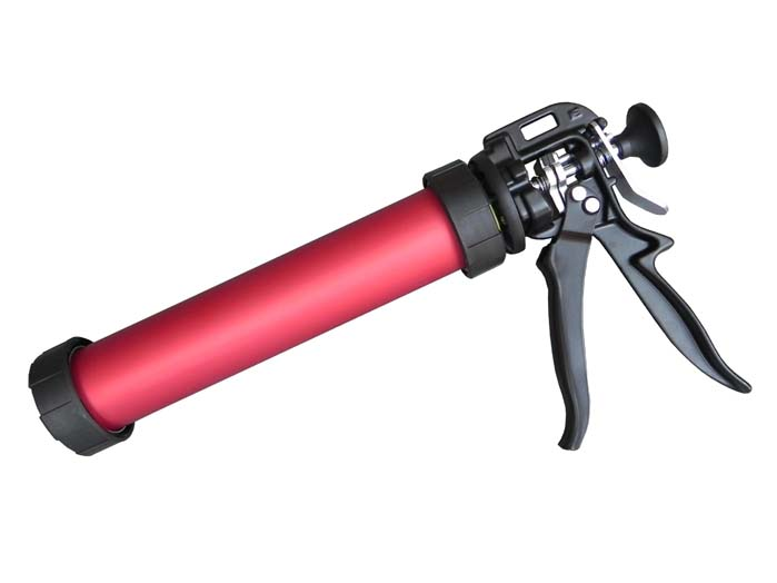 "GLOBAL Barrel Gun High Ratio 26:1 400ml (10.5"") RED"