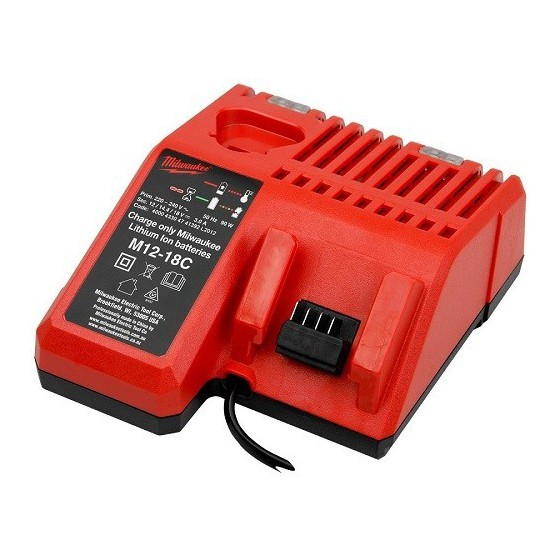 Milwaukee M12--M18 Multi Battery Charger