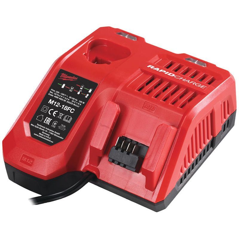 Milwaukee M12-M18 Multi Rapid Charger