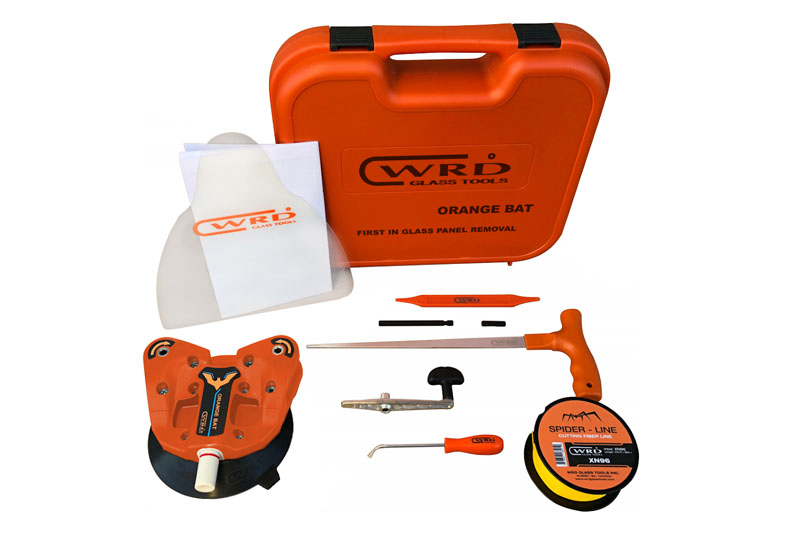 WRD Orange BAT Complete kit in plastic case Fibre Line Removal Device