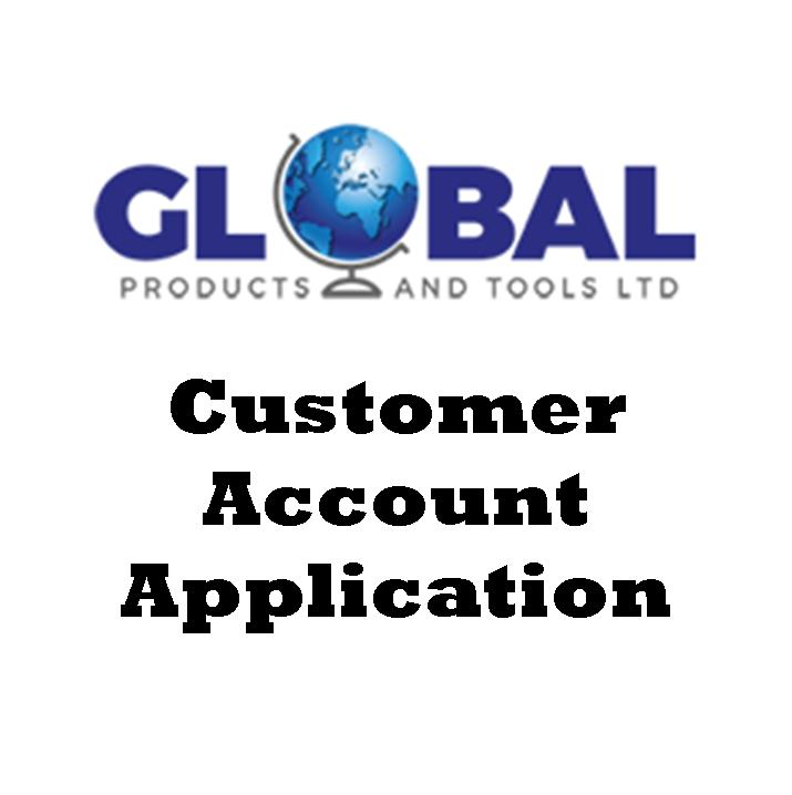 Customer Account Application Form