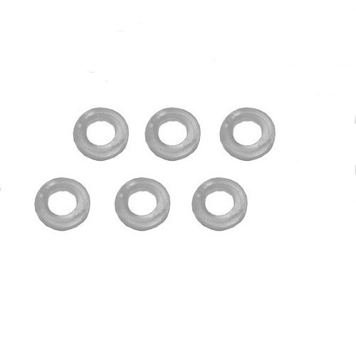 Elite Service Pack 3 - 6 x Plastic Washers for the Feet